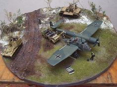 Aircraft diorama | ... 48 SCALE VEHICLES, FIGURES AND ACCESSORIES for DIORAMAS AND DISPLAYS