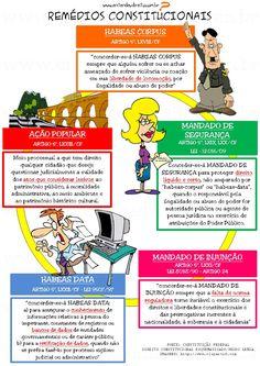 ENTENDEU DIREITO OU QUER QUE DESENHE ???: REMÉDIOS CONSTITUCIONAIS
