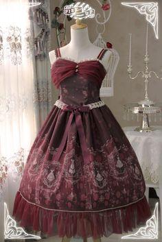 Pink Up -Mystic Closet- Lolita Jumper Dress Type I