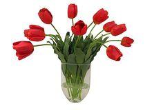 Long Stem Autumn Tulips in Vase on OneKingsLane.com    449