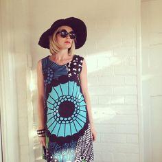 Marimekko Siirtolapuutarha Shift Dress more color by karlacola