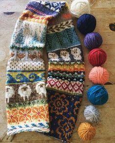 'favorite things' scarf {pattern/recipe on ravelry}