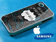 The Fault in Our Stars quote iphone 4/4s case, iphone 5/5s/5c case, samsung s3 i 9300/s4 i 9500 case on Etsy, £8.05