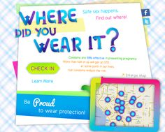 Where did you wear it? Planned Parenthood offers QR-coded condoms to track safe sex!