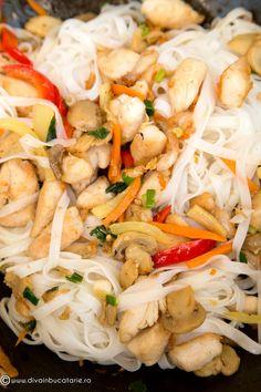 TAITEI DE OREZ CU PUI SI LEGUME | Diva in bucatarie Pasta Salad, Chicken, Ethnic Recipes, Food, Crab Pasta Salad, Essen, Meals, Yemek, Eten
