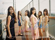 G-Friend released a set of group cuts for 'Rainbow'.The girl group continues teasing for the mini repackage album with group teaser images.