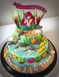 Mermaid Pudding