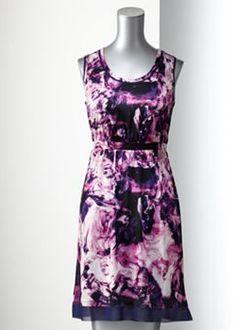 Simply Vera Vera Wang Swirl Dress