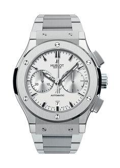 Classic Fusion Titanium Opalin Bracelet Chronograph watch from Hublot