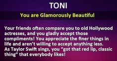 What Kind Of Beauty Hides Your Name? Cute Quotes, Great Quotes, Childrens Bible Songs, Old Hollywood Actresses, Names With Meaning, Beautiful Words, Book Quotes, Compliments, Meant To Be