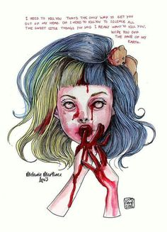 art, dead to me, and melanie martinez image