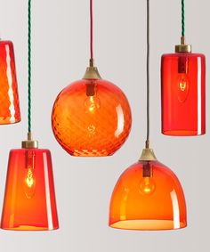 Blown #glass back in vogue with Rothschild & Bickers at designjunction 2013 #orange #colour