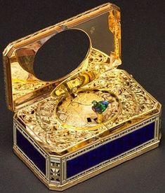 *Antique bird music boxes~