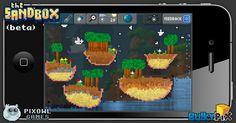 Islands in the sky  #pixelart #sandbox #pixel #art #ios #iphone