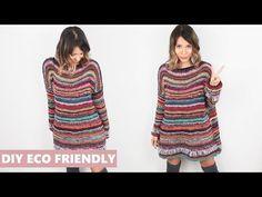 BLUSA SUÉTER ECO - TRICÔ - YouTube Crochet Doily Patterns, Crochet Doilies, Cardigan Au Crochet, Fashion Bubbles, Vest Jacket, Knitwear, Knitting, Sweaters, Clothes
