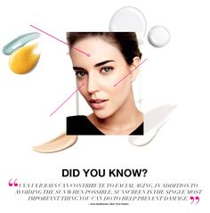 did you know? UVA/UVB rays can contribute to facial aging. in addition to avoiding the sun when possible, sunscreen is the single most important thing you can do to help prevent damage. www.youravon.com/tanikaparson.