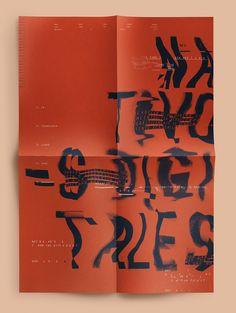 Nativos Digitales | Desplegable Tipográfico on Behance