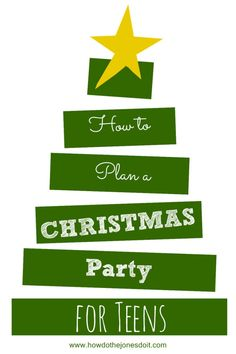 This Christmas Party for Teens was a huge hit! The night was full of joy and laughter!