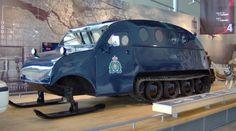 RCMP Police Snow Vehicle