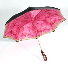 Fancy - Pink Flower Umbrella by Illesteva