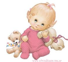Bedtime at the Cottage sometimes means the littlest Grand-darling needs more than one Teddy. Baby Images, Cute Images, Baby Pictures, Cute Pictures, Clipart Baby, Sarah Kay, Baby Cartoon, Baby Art, Baby Scrapbook