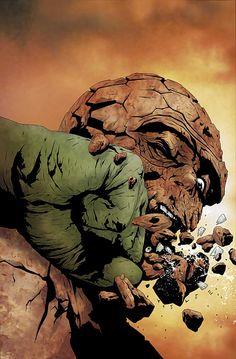 Hulk & Thing: Hard Knocks #3 by Jae Lee