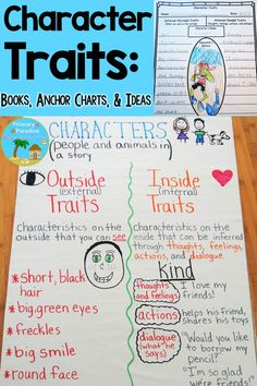 Help your students understand that a character's thoughts, feelings, actions, and dialogue- their character traits- make up their personality! Encourage them to dig deeper into the text to understand characters.