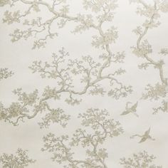 Walnut Wallpaper The Cranes - RF74