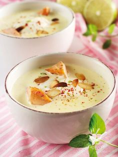 Potato and salmon cream Soup Recipes, Snack Recipes, Cooking Recipes, Healthy Recipes, Antipasto, Food Porn, Good Food, Yummy Food, Comfort Food