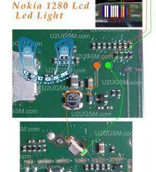 Nokia 1280 Led Lcd Display Light Solution Jumpers Ways In 2020 Smartphone Repair Nokia Light Display