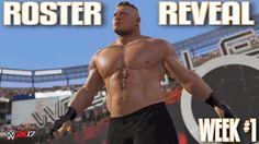 WWE 2K17 Roster Reveal Week #1: 19 NEW SUPERSTARS REVEALED + CHRIS JERIC...