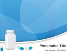 pills powerpoint template is a free medicine powerpoint background, Modern powerpoint