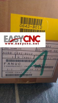 Used 100% Tested Original Fanuc Ac Servo Motor A06b-0077-b103 Refreshment Electronics Production Machinery