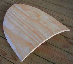 Making a shield blank from plywood using a homemade press.
