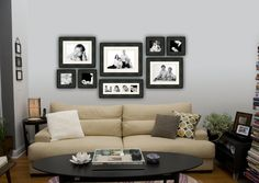 One of the best things you can do with your professional photographs is to do a wall display. #walldisplays #portraits #family