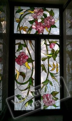 Stained Glass Flowers, Stained Glass Crafts, Faux Stained Glass, Stained Glass Designs, Stained Glass Patterns, Leaded Glass, Stained Glass Windows, Mosaic Glass, Window Glass Design