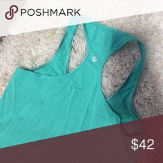 Lululemon tank Perfect condition just too big for me lululemon athletica Tops
