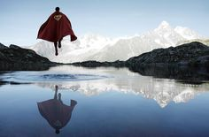 A look at how one Parisian photographer takes the world of superheroes and drops them into sprawling country landscapes.