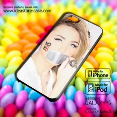 Miley Cyrus NOH8 Case for iPhone 4/4S/5/5S/5C by hamamerajarela, $13.99