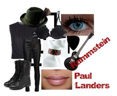 Paul Landers by slytheriner on Polyvore featuring Simone Rocha, ADAM, Cotton Club and yeswalker