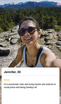 Good sample online dating profile examples