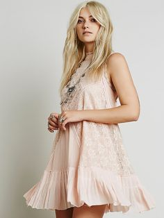 Free People FP ONE Angel Lace Dress at Free People Clothing Boutique