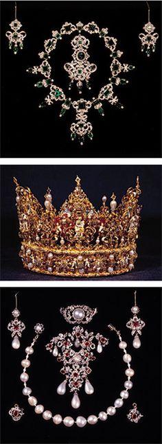 Rosenborg Castle, Rosenborg Slot, the Danish Royal Family, crown jewels, Copenhagen