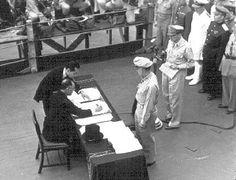 The History Place - World War II in Europe Timeline: September 2, 1945 - Japanese Sign Surrender