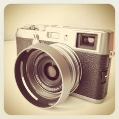 Fuji x100. I love that this camera is on its way to my house right now.