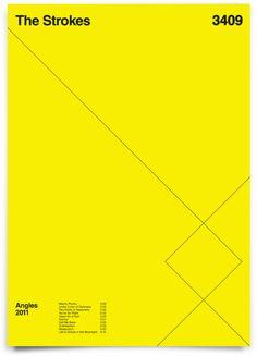 The Strokes poster — Duane Dalton