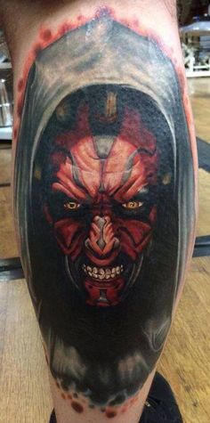 Awesome Darth Maul Tattoo