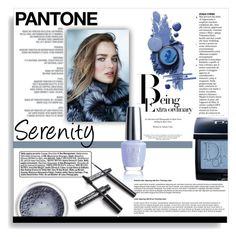 """Pantone Beauty: Rose Quartz and Serenity"" by signaturenails-dstanley ❤ liked on Polyvore featuring beauty, CamelBak, Christian Dior, serenity, pantone, pantone2016 and pantonebeauty"