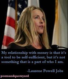 Laurene Powell Jobs Relationship Quote