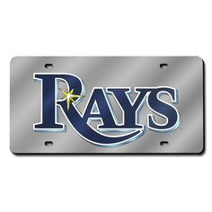 Tampa Bay Rays Laser Cut License Plate Cover